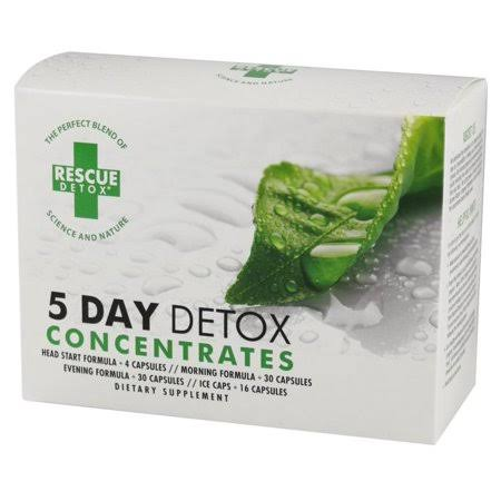 Rescue Detox - 5 Day Detox Concentrate Kit