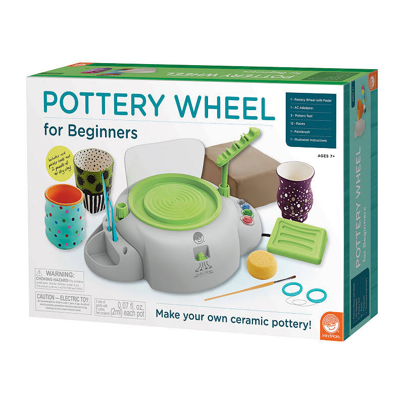 Mindware Pottery Wheel For Beginners