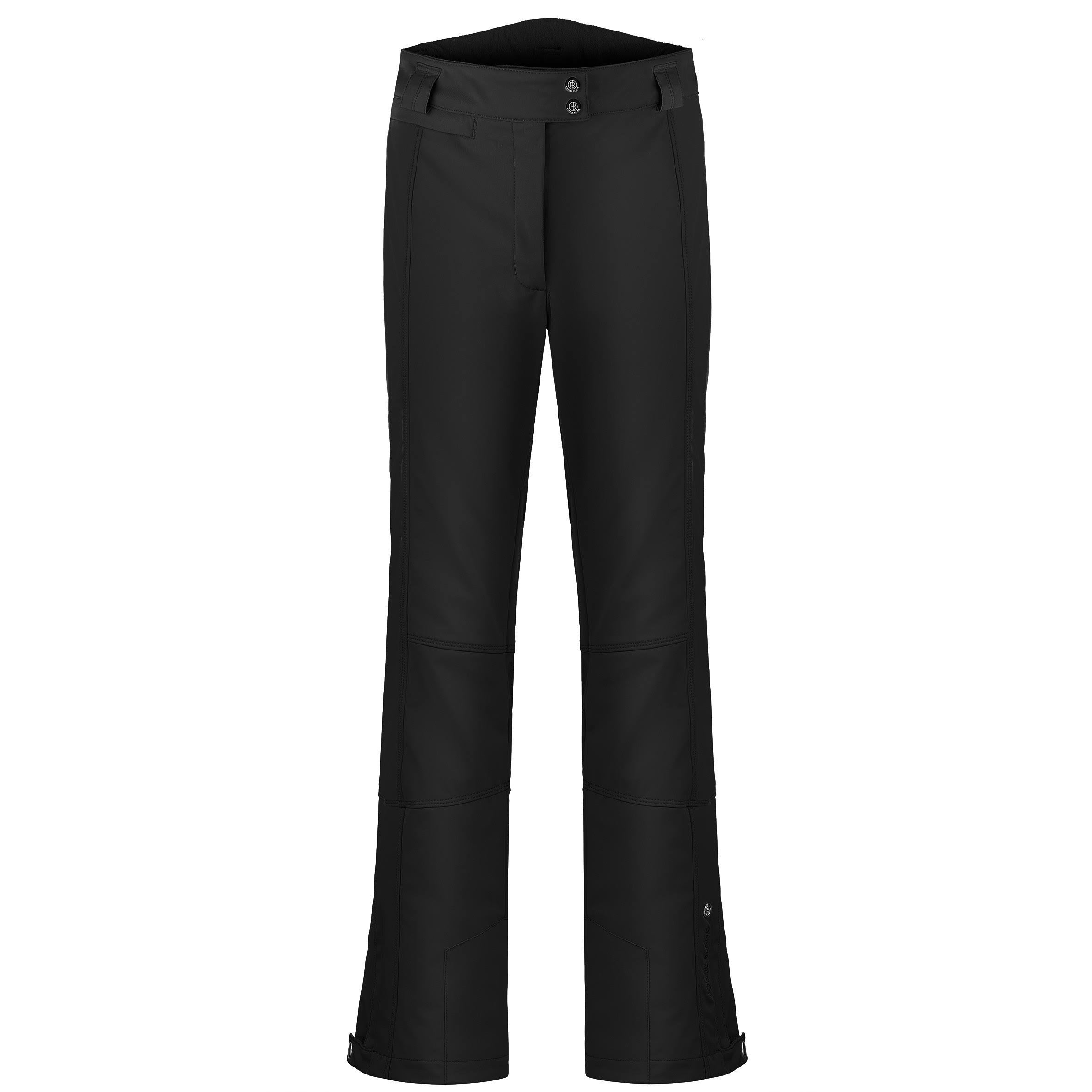Poivre Blanc Stretch Ski Pants - Womens - Black