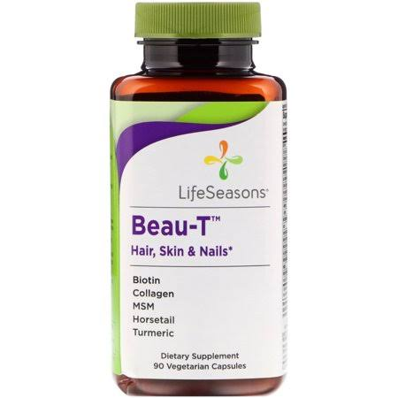 Life Seasons Beau T Hair Skin and Nails Dietary Supplement - 90ct