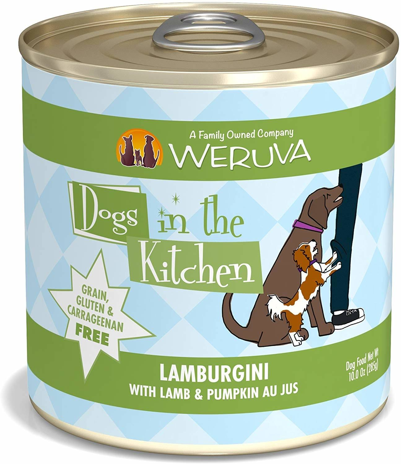 Weruva Dogs in The Kitchen Dog Food - Lamburgini with Lamb Pumpkin Au Jus, 10oz
