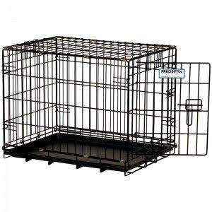 Precision Pet Provalu Great Crate Double Door Dog Crate - Black, 48""