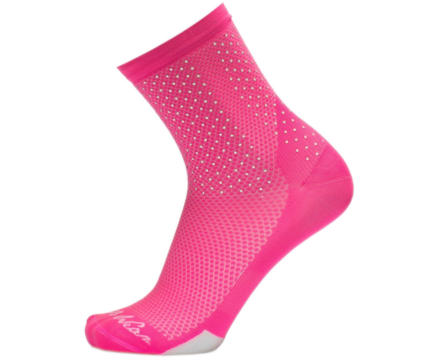 MB Wear Reflective Socks Pink S-M (35-40)