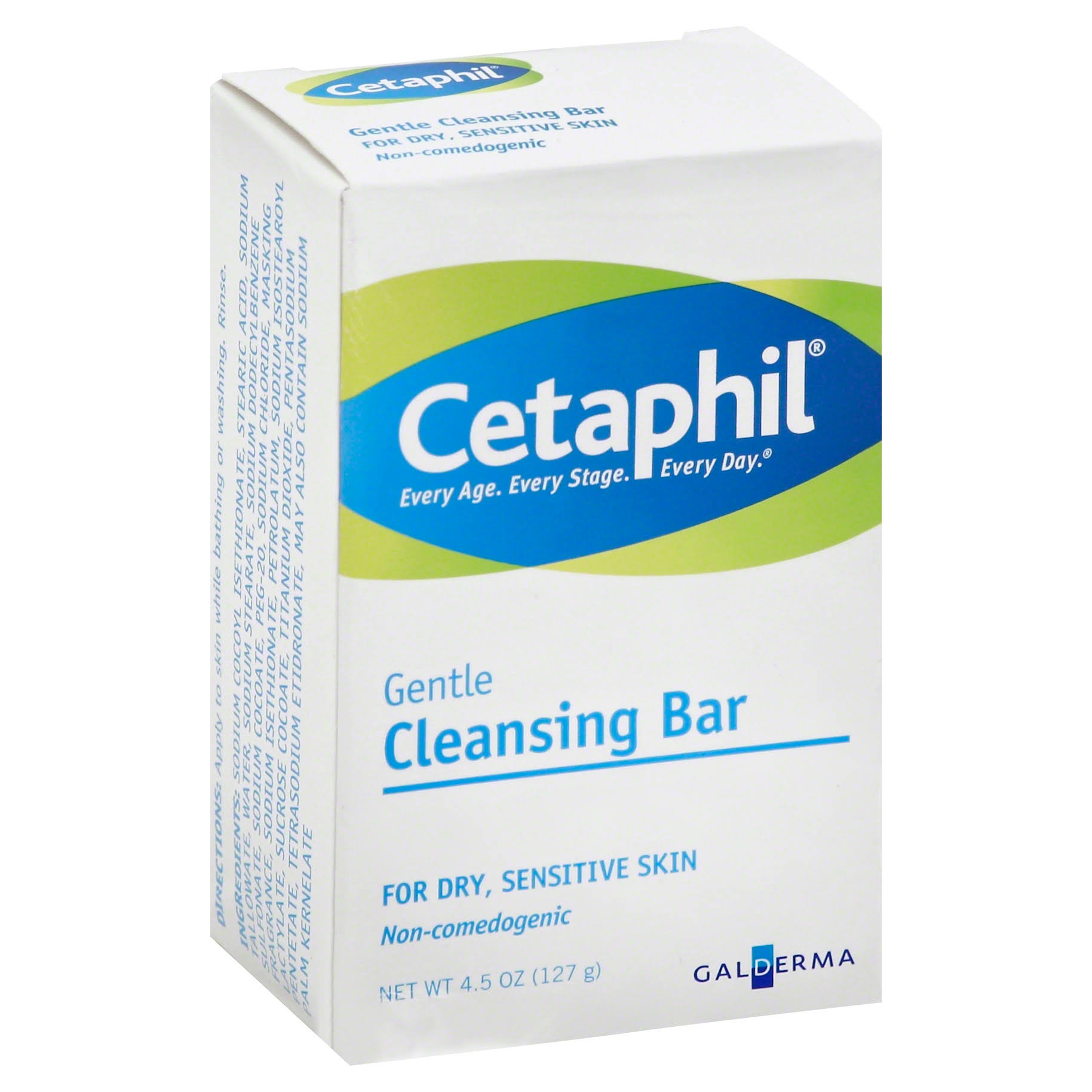Cetaphil Gentle Cleansing Bar Soap - 4.5oz