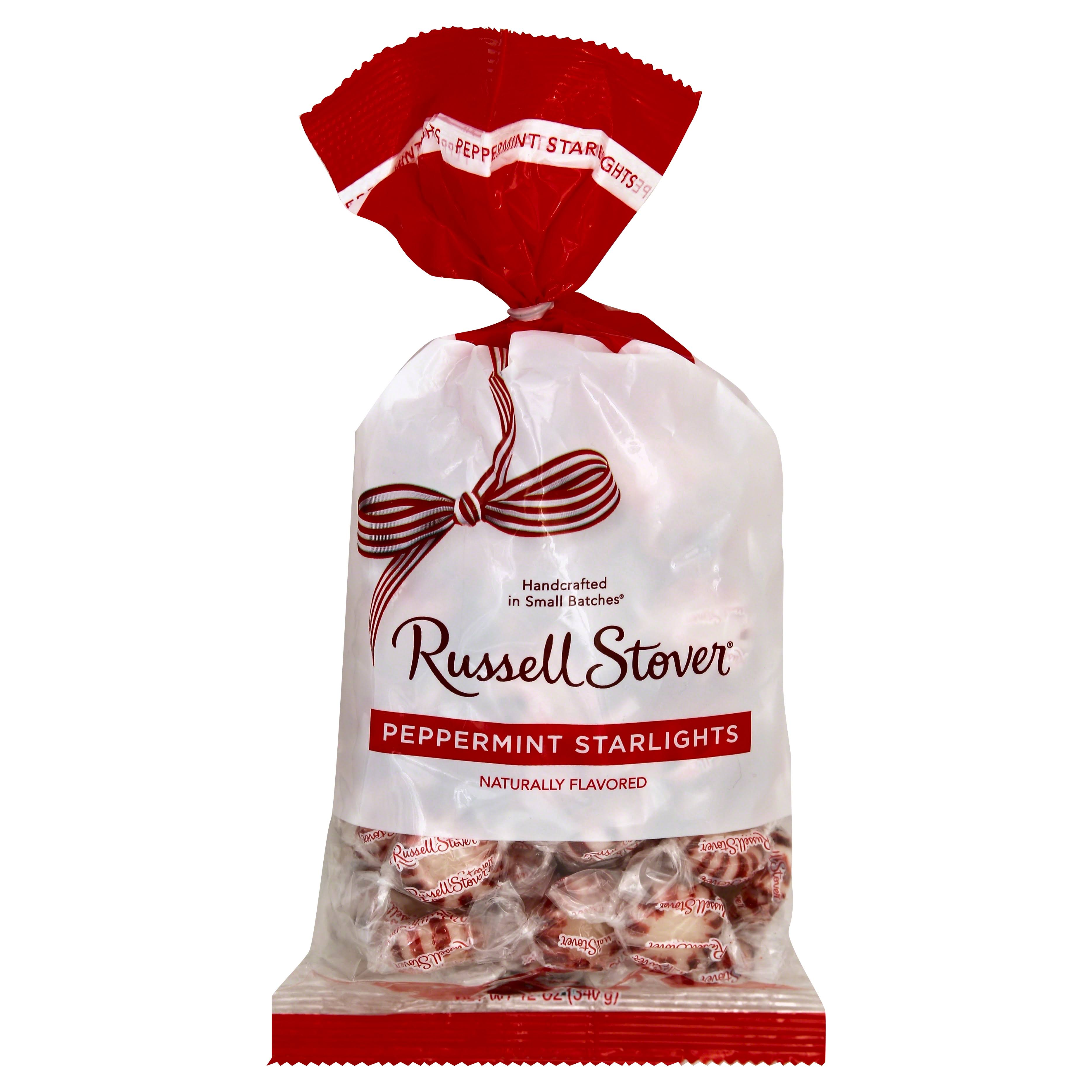 Russell Stover Starlights, Peppermint - 12 oz