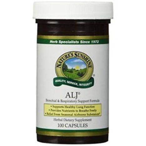 Nature's Sunshine ALJ Supplement - 100 Capsules