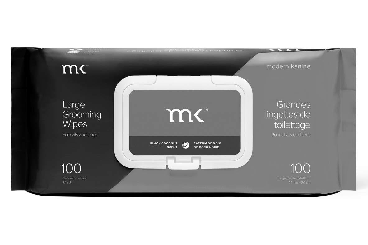 Modern Kanine Black Coconut Pet Grooming Wipes