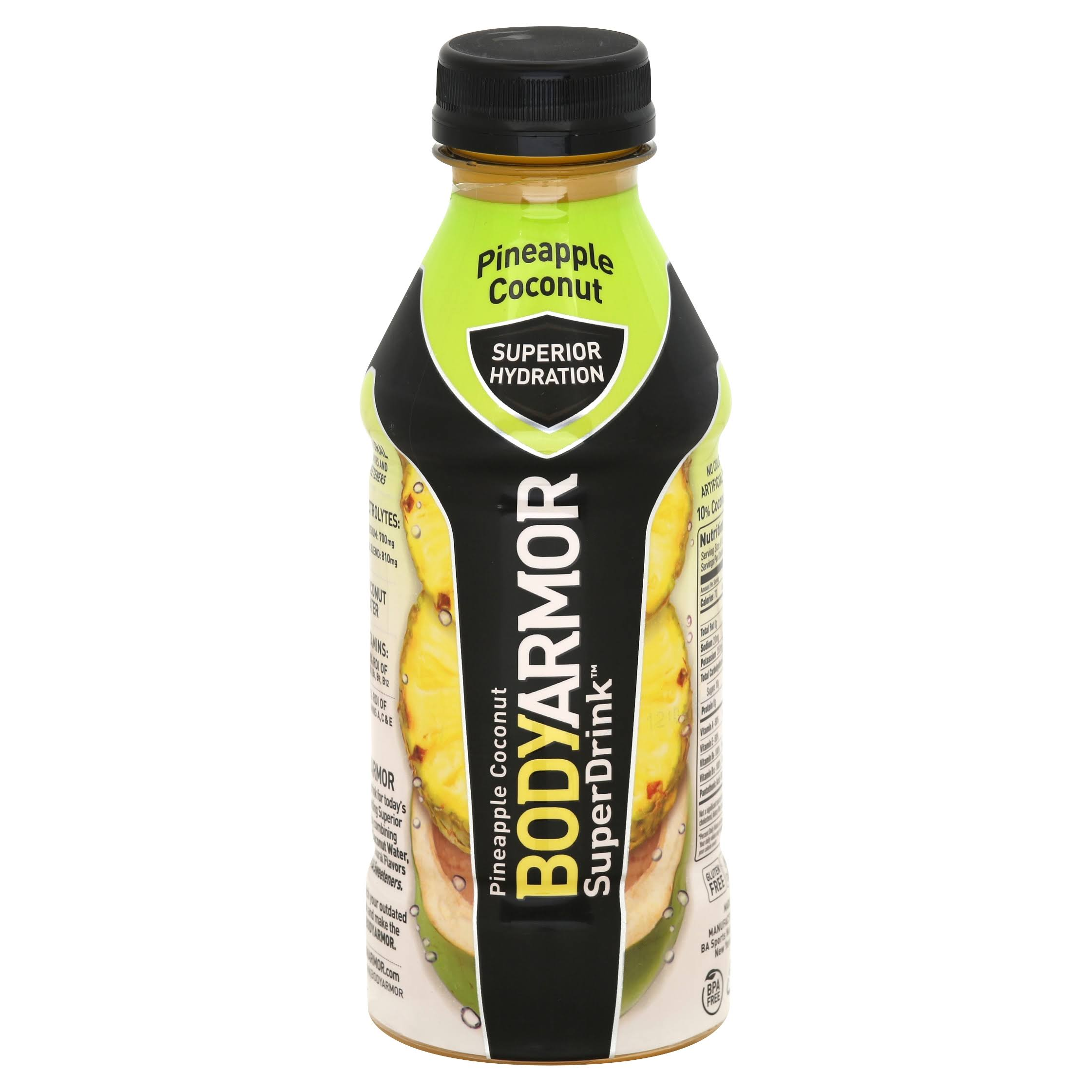 BodyArmor SuperDrink, Pineapple Coconut - 16 fl oz
