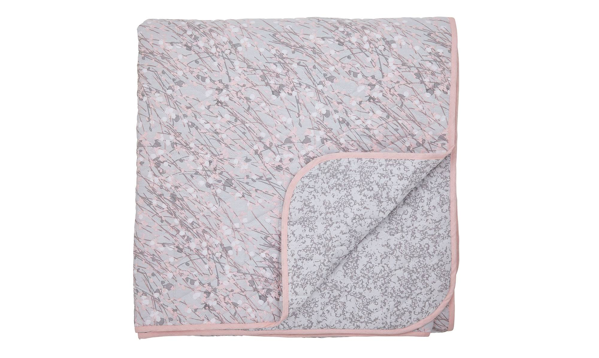 DKNY Bryant Park Quilted Throw, Blush