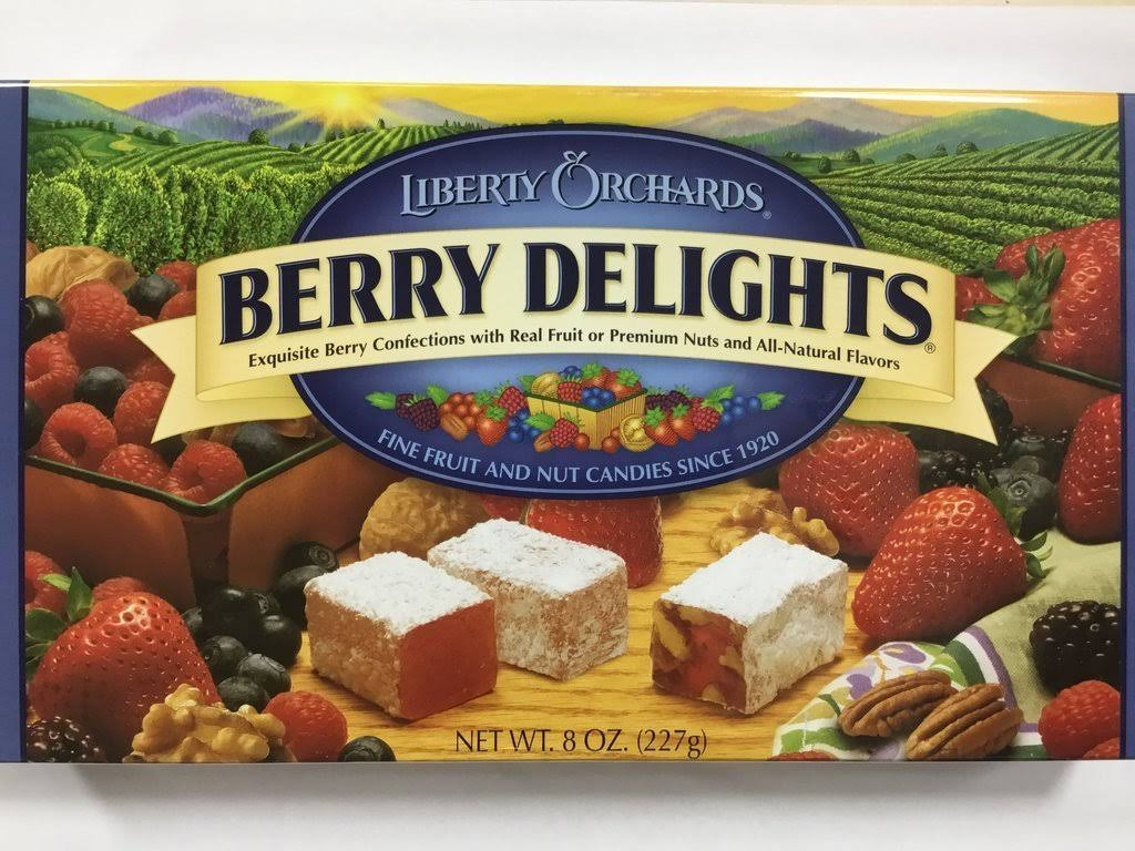 Liberty Orchards Berry Delights 8 oz