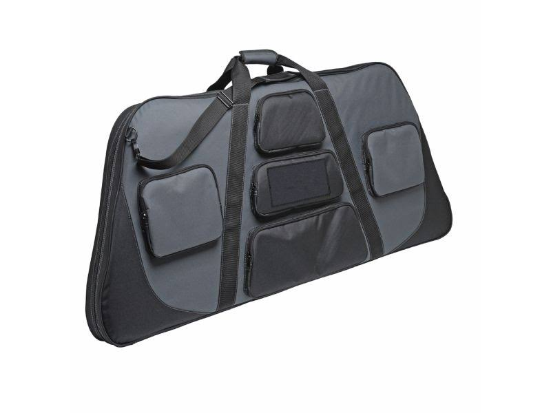 3006 Outdoors Advertizer Compound Bow Case - Black/Gray, 44""