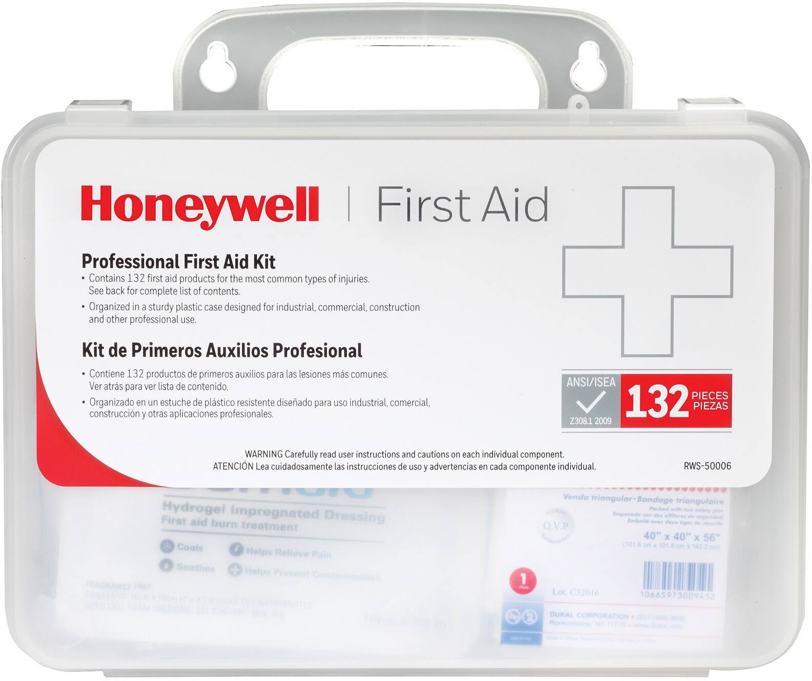 Honeywell First Aid Kit, Professional - 132 first aid kit