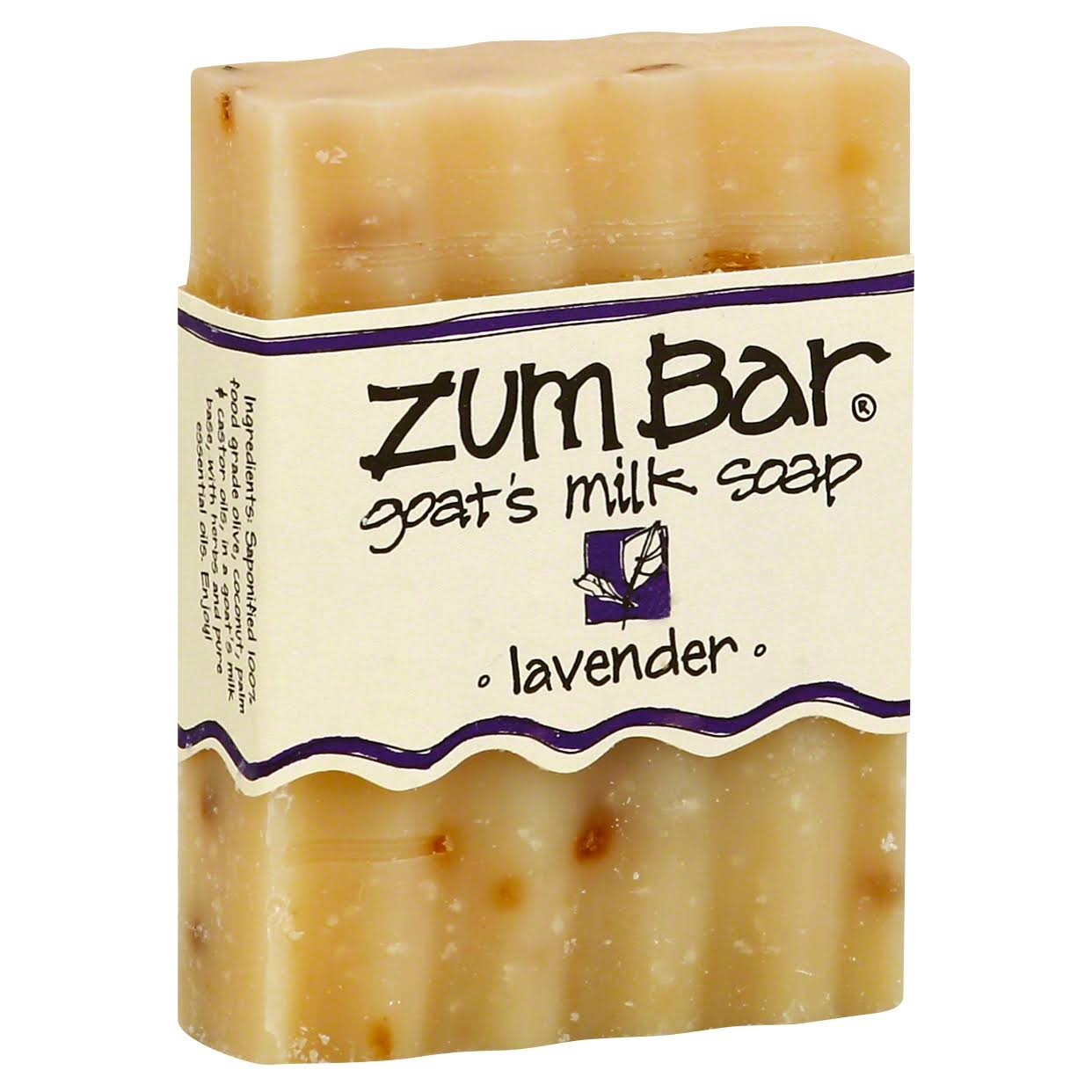 Zum Bar Goat's Milk Soap - Lavender