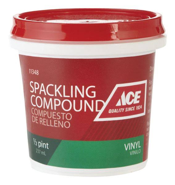 Ace Vinyl Spackling - 1/2 Pint