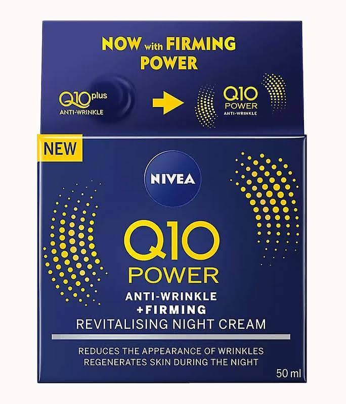 Nivea Q10 Power Anti-Wrinkle + Firming Night Cream - 50ml