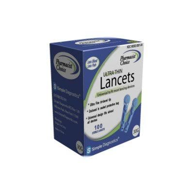 Pharmacist Choice Twist Top Lancets - Pack Of 100, 30g