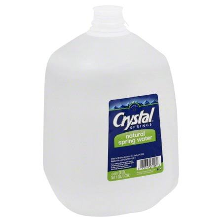 Crystal Springs Water, Natural Spring - 1 gl (3.78 lt)