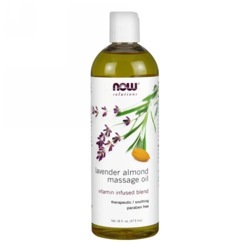 Now Foods Lavender Almond Massage Oil - 16oz