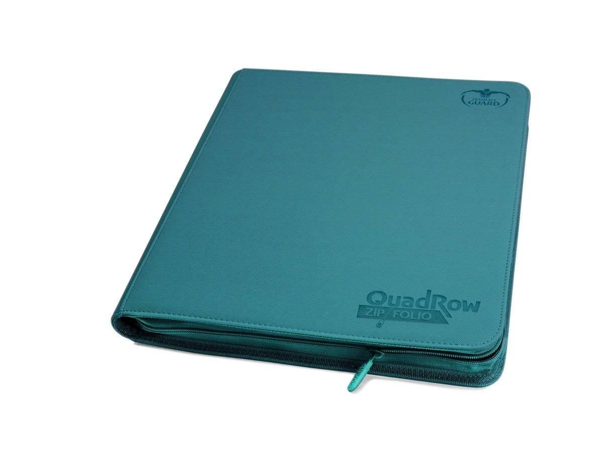 Ultimate Guard 12-Pocket QuadRow ZipFolio - Petrol