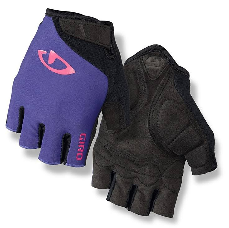Giro Jagette Women's Cycling Gloves - Purple Shine and Pink, Large