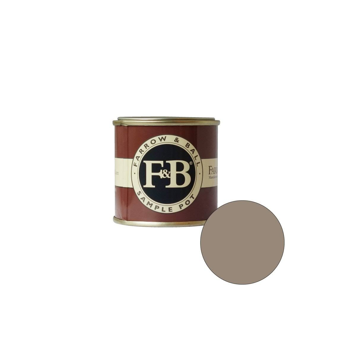Farrow & Ball Estate Emulsion Sample Pot - Charleston Gray, 100ml