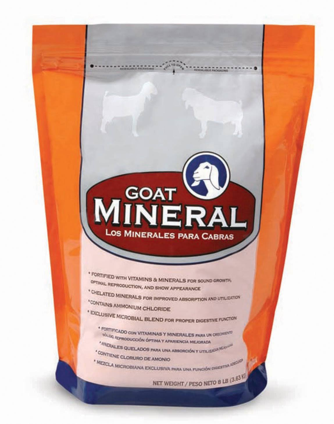Manna Pro Goat Mineral and Vitamin Supplement - 8lbs