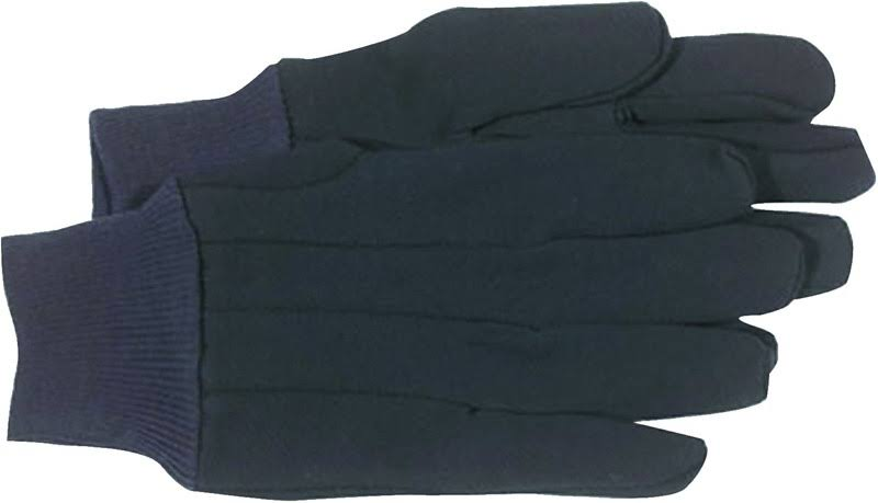 Boss Large Jersey Gloves - Brown
