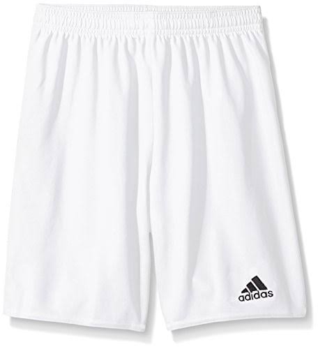 Adidas Performance Youth Parma 16 Shorts - White and Black, Large