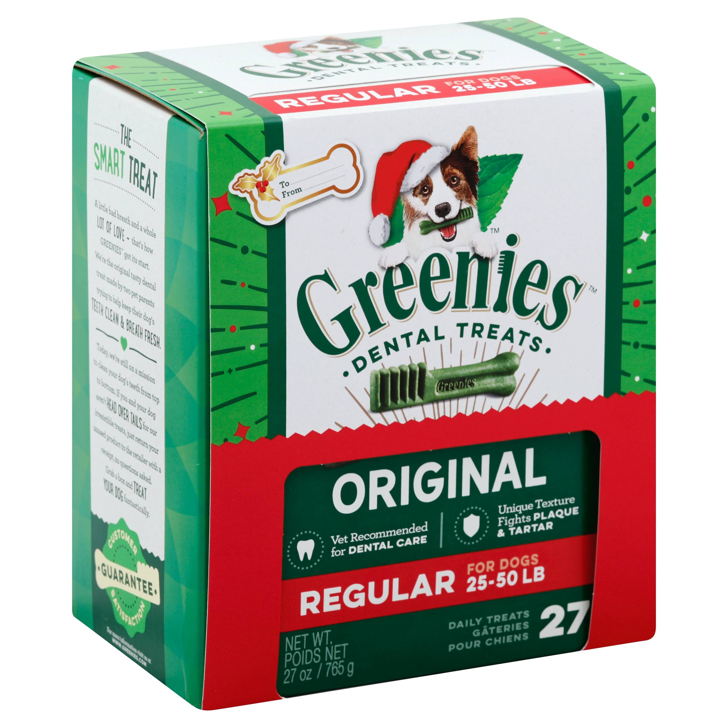 Greenies Dental Treat - 27 Daily Treats, 765g