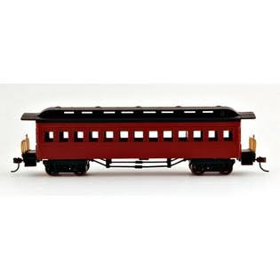 Bachmann HO 1860-1880 Coach, Red
