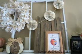 Home Decor Books 2015 by Shelly Bailey Fall Mantel 2015 And Home Decor Video Tour