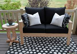 Build Your Own Outdoor Patio Table by Diy Outdoor Seating Her Tool Belt