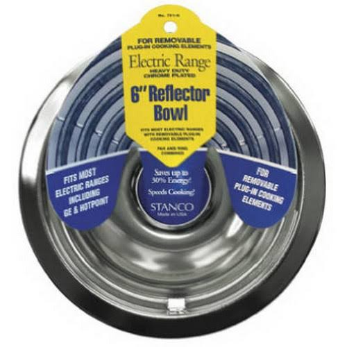 Stanco Meta 701-6 6 inch Chrome Reflector Bowl