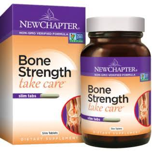 New Chapter Bone Strength Calcium Supplement - 90 Slim Tablets
