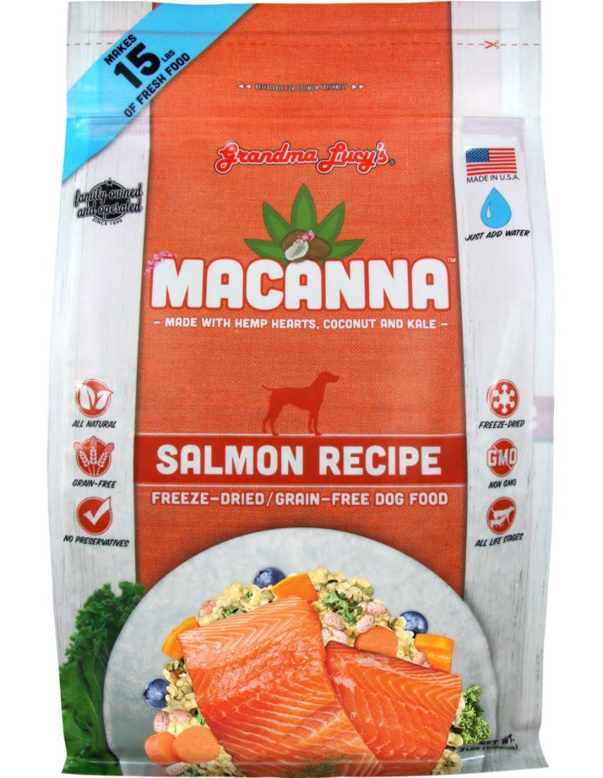 Grandma Lucy's Macanna Dried Dog Food - Beef