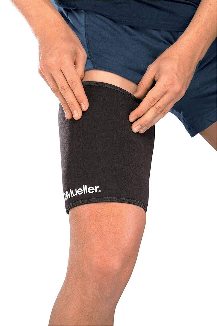 Mueller Thigh Sleeve Neoprene - Black