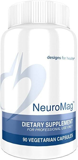 Designs for Health NeuroMag Magnesium Supplement - 90ct, 144mg