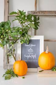 White Oak Pumpkin Patch by Pumpkin Patch Fall Printable A Burst Of Beautiful