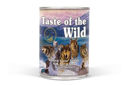Taste of The Wild Wetlands Dog Food, Can, 13.2 oz.