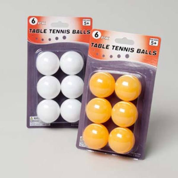 Case of [48] Table Tennis Balls - 6 Pack