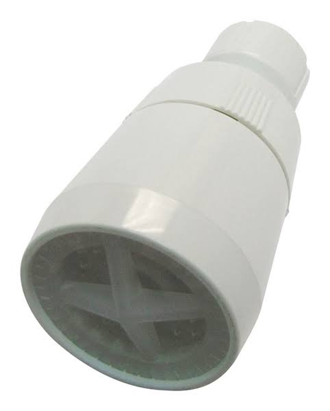 Plumb Pak Pp825-15 Shower Head - Plastic, White