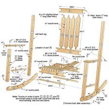 free woodworking plans rocking chair projects and plans board of