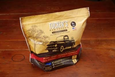 Tucker's Beef & Pumpkin Raw Frozen Dog Food 6lb