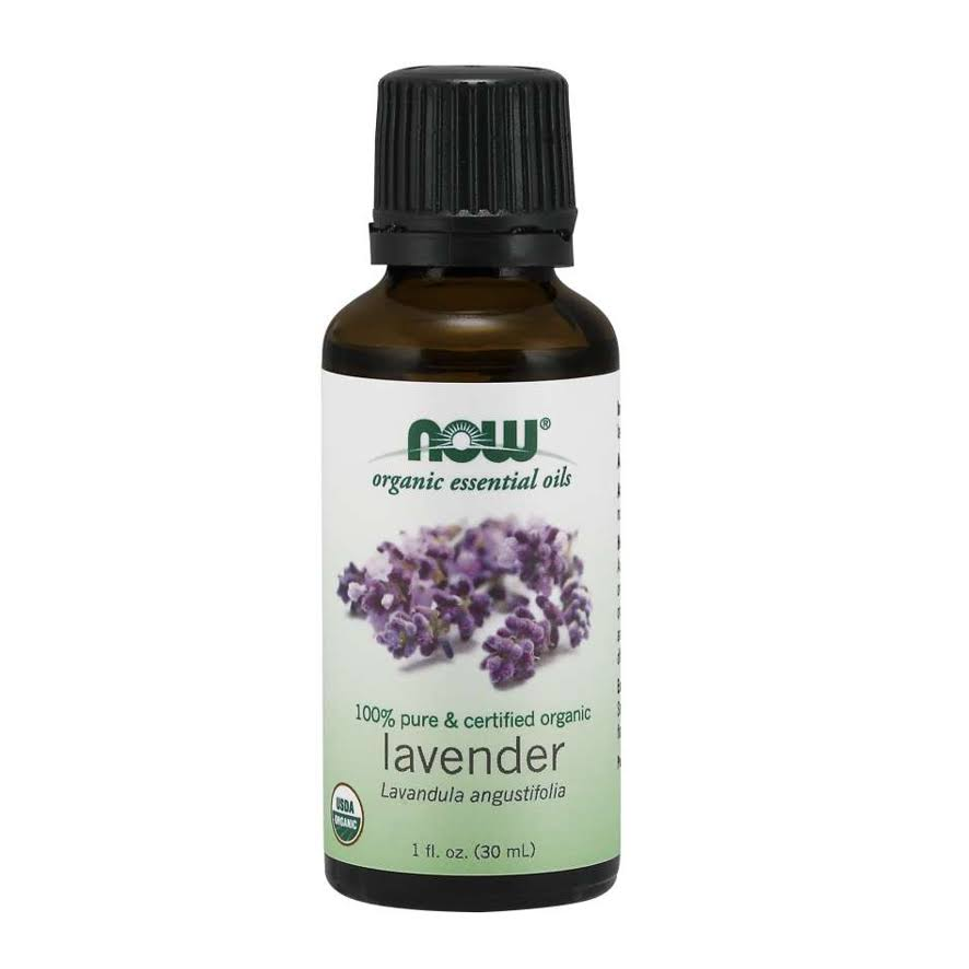 Now Foods Essential Oils Organic Oil - Lavender, 30ml