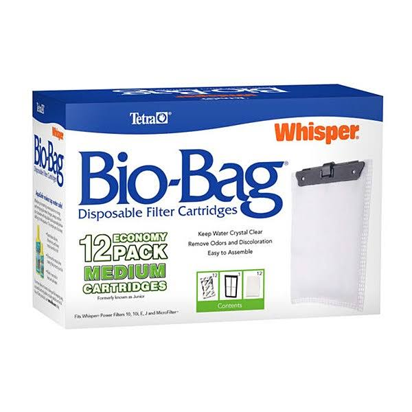 Tetra Usa Bio Bag Medium Cartridge Refills Jr