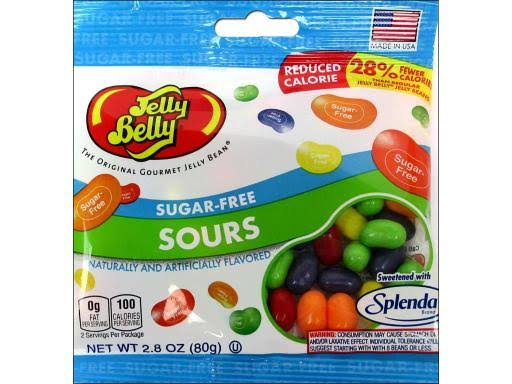 Jelly Belly Sugar-Free Sours Candy - 2.8oz