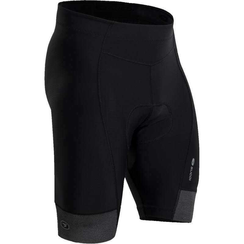 Sugoi Mens Evolution Zap Bike Shorts - Black, X-Large, 9""