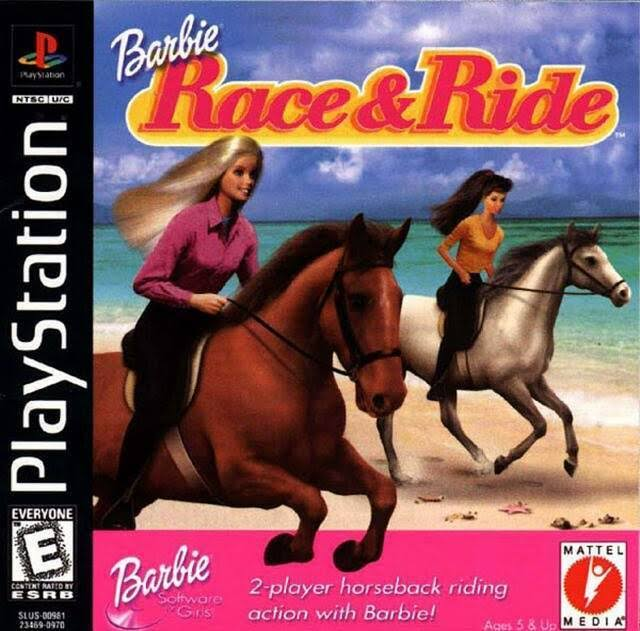 Barbie Race and Ride - PlayStation