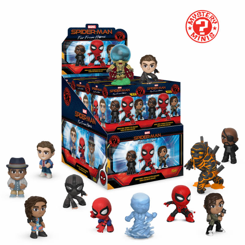 Spider-Man: Far from Home - Mystery Minis - Funko