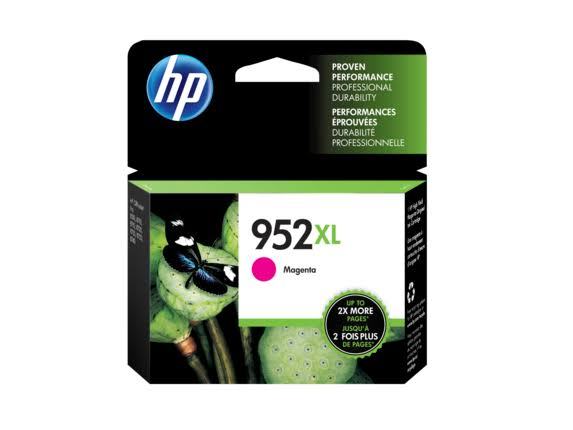 HP Inkjet 952XL Original Ink Cartridge - Magenta